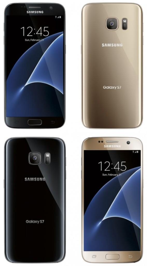 Рендеры показали цветовые варианты Samsung Galaxy S7 и S7 edge