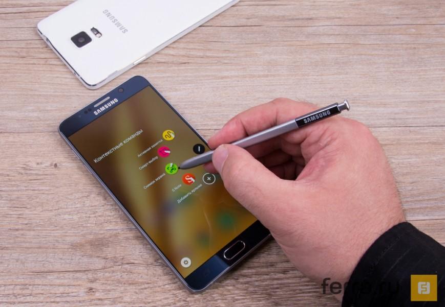 Samsung Galaxy Note 7 придет на смену Galaxy Note 5