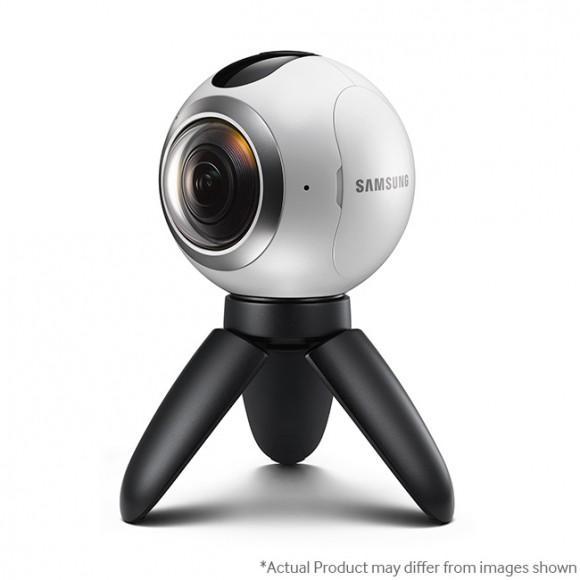 Samsung выпускает камеру Gear 360