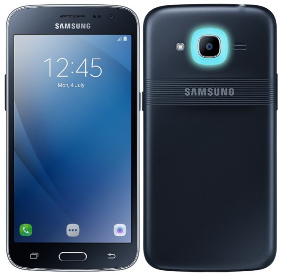 Samsung представила смартфон Galaxy J2 Pro со светодиодным кольцом Smart Glow