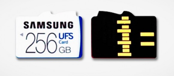 Samsung создаст гибридный слот для карт UFS и microSD
