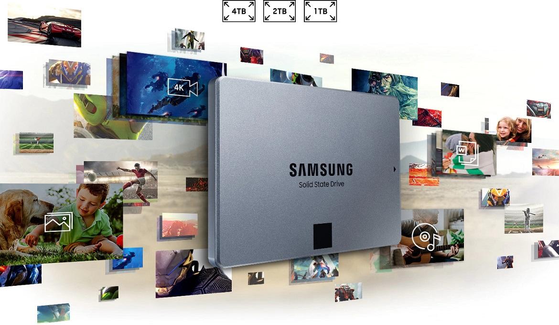 "Samsung 860 QVO SATA 2.5"" SSD"