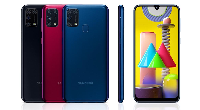 Samsung Galaxy M31 с четырехъядерной камерой и батареей емкостью 6000 мАч