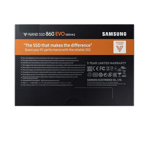 Накопитель Samsung SSD 250Gb 860 EVO SATA M.2 MZ-N6E250BW