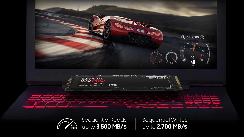 SSD накопитель Samsung 970 PRO NVMe M 2 512 Гб - купить Samsung