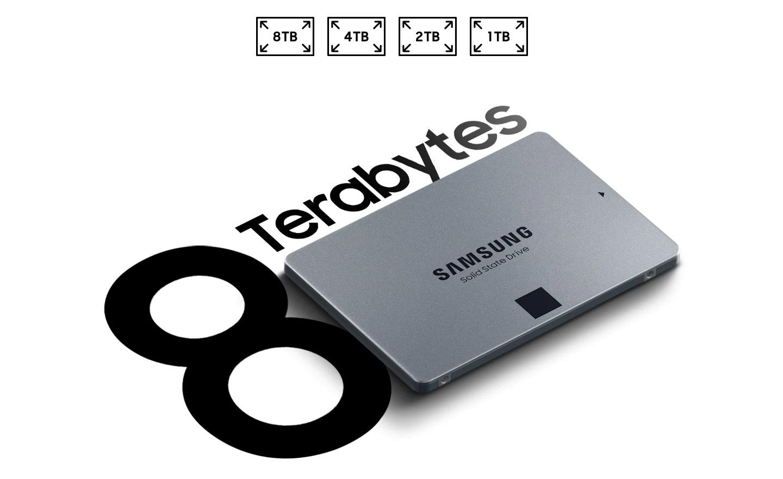 SSD Samsung 870 QVO - купить Samsung3