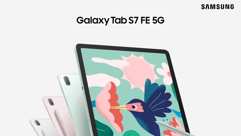 Samsung Galaxy Tab S7 FE 5G и Samsung Galaxy Tab A7 Lite
