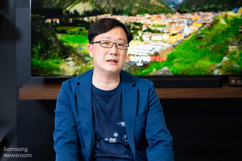 ▲ Пак Хэкван, главный инженер лаборатории звуковых устройств подразделения визуальных дисплеев Samsung