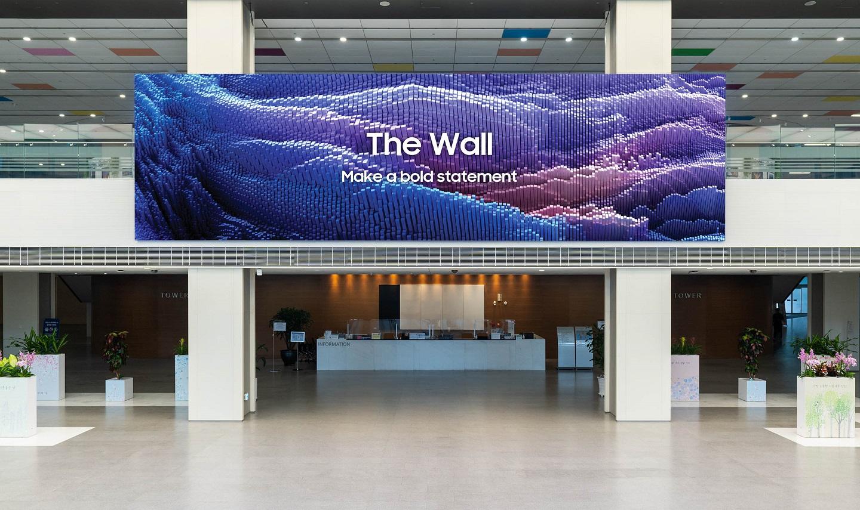 Samsung Wall 2021 теперь доступна во всем мире