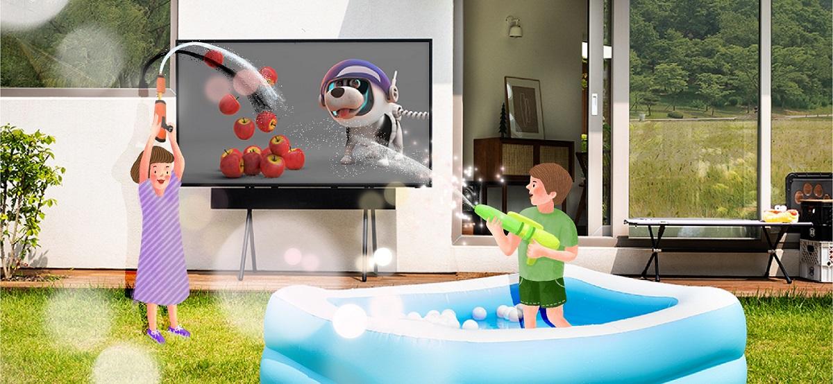 Уличный телевизор Samsung The Terrace