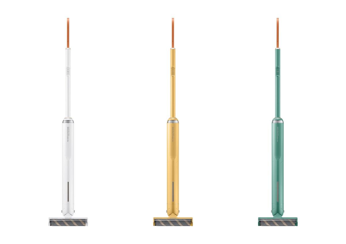 Bespoke Slim (VS6800AL) 1 - это пылесос, который отличается тонким корпусом и настраиваемым дизайном, который умещается в небольшом пространстве.