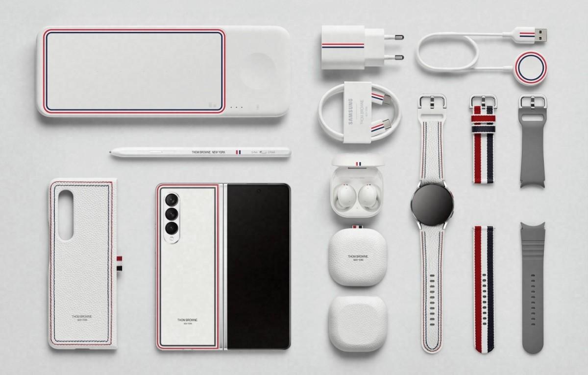 Стиль встречается с инновациями: распаковка серии Samsung Galaxy Z Thom Browne Edition