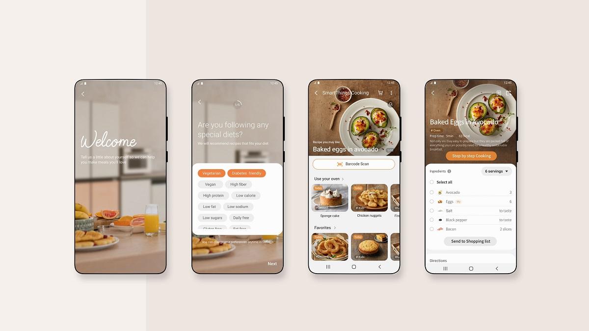 SmartThings Cooking, обеспечивающий универсальный кулинарный опыт на базе искусственного интеллекта Whisk Food.