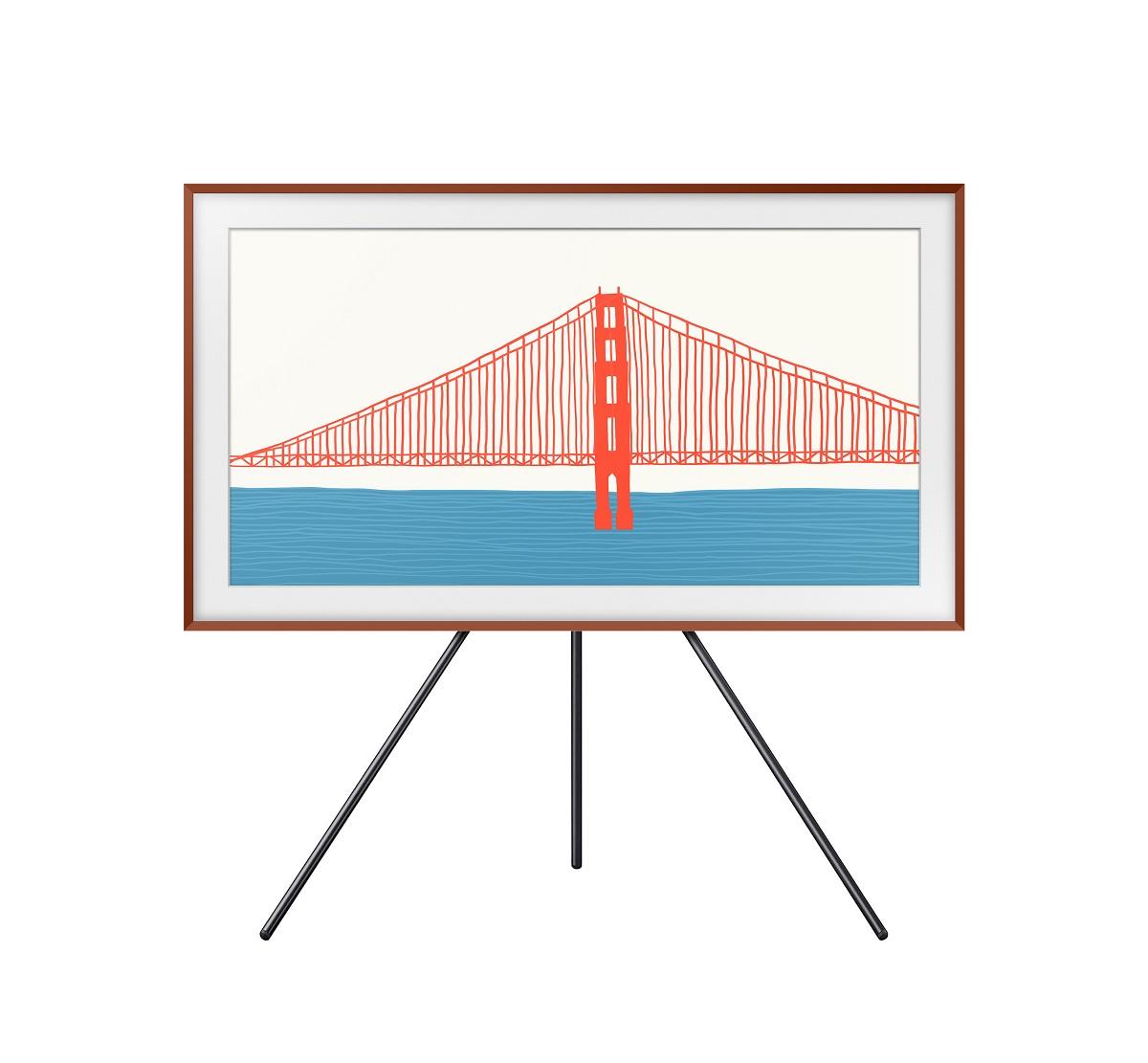 The Frame - это стильный телевизор, который можно подобрать к любому домашнему декору и который имеет режим «Art Mode», который позволяет зрителям наслаждаться шедеврами у себя дома.