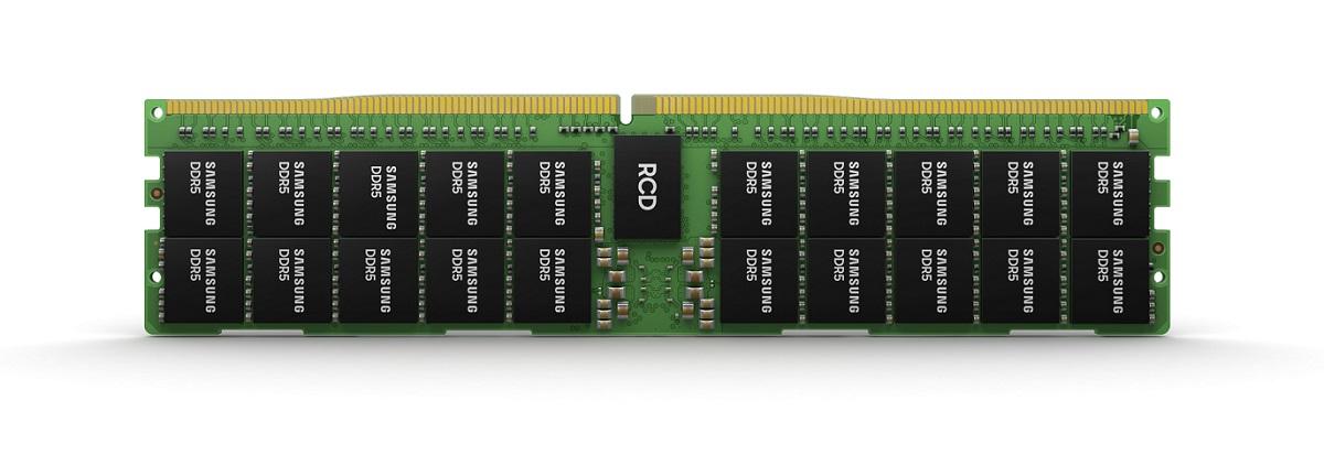 Samsung начинает массовое производство 14-нм памяти DRAM EUV DDR5